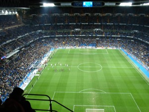Estadio Santiago Bernabéu campo del Real Madrid