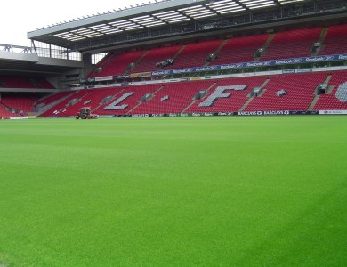 Estadio de Anfield campo del Liverpool