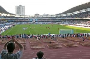 Estadio de Anoeta campo de la Real Sociedad