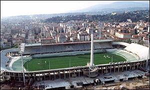 Estadio Artemio Franchi campo de la Fiorentina