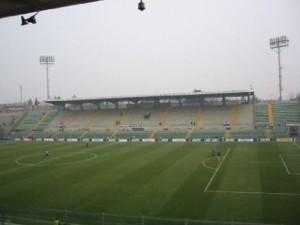 Estadio Atleti Azurri D'Italia campo del Atalanta y Albino Leffe