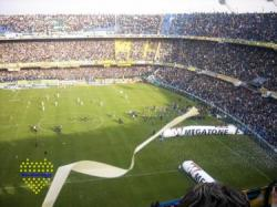 Estadio Alberto J. Armando (La Bombonera) del Club Atlético Boca Juniors