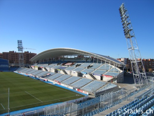 Estadio Coliseum Alfonso Pérez Campo Donde Juega El Getafe Cf