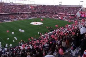 Estadio Vicente Calderón campo del Atlético de Madrid