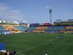 Estadio Insular antiguo campo de Las Palmas